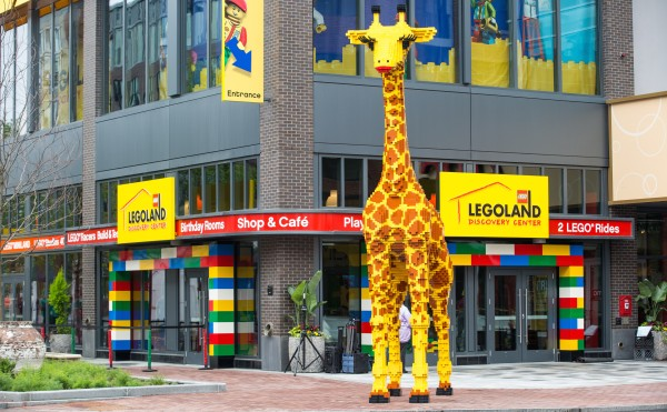 Enjoying Legoland Discovery Center in Somerville, MA