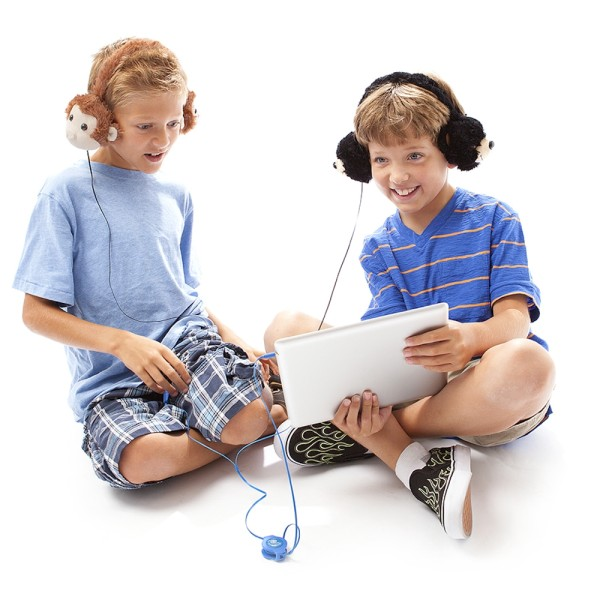 Music Listening Becomes Furry and Fun with Animalz Headphones from Retrak – Win a Pair!