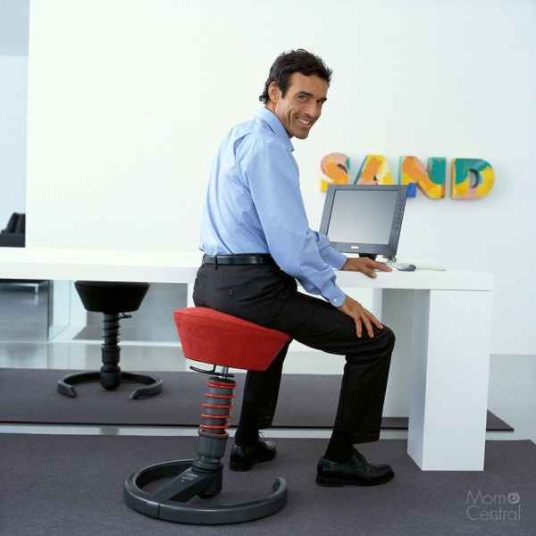 Sitting Healthy and Happy: The Swopper Classic Office Chair and a Holiday Giveaway!