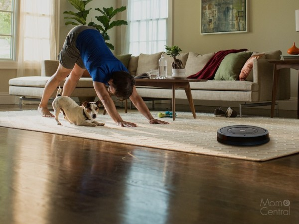 Hands Free and High Tech Vacuuming with the iRobot Roomba 650