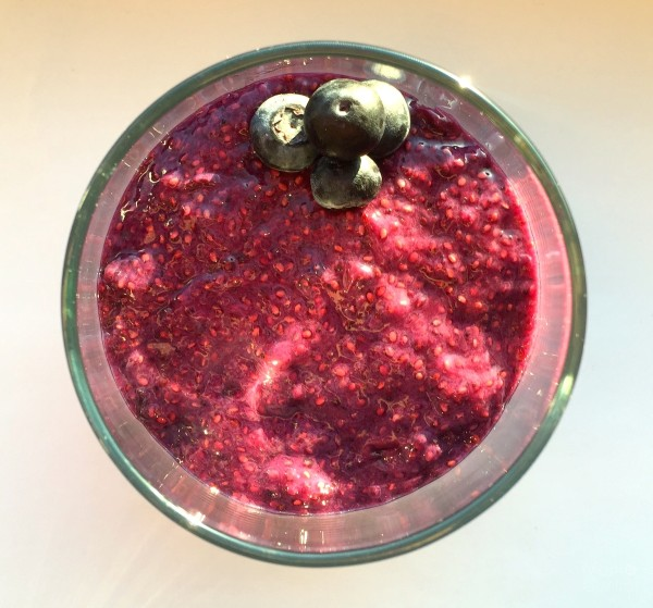 Blueberry Lemon Chia Pudding
