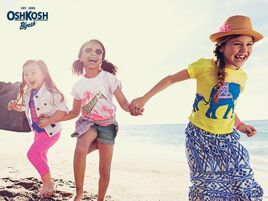 Hit the Beaches with OshKosh B'Gosh!