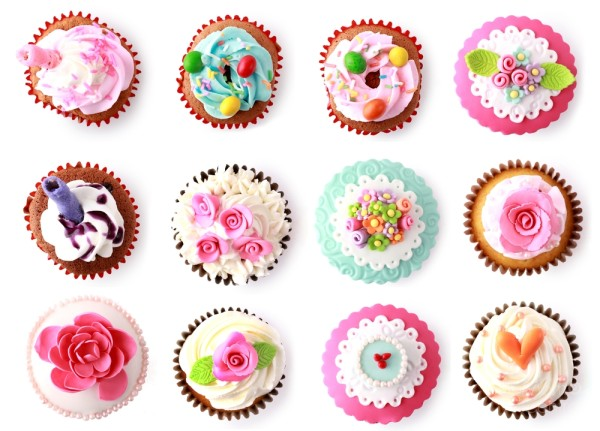 50 Stunning Cupcakes – Don't Eat Them All At Once!