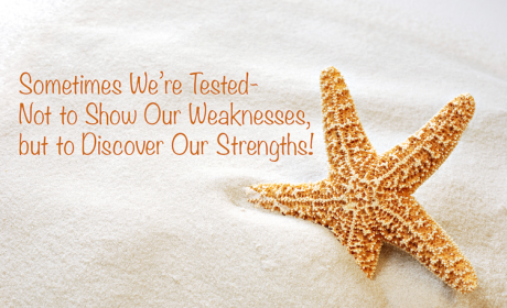Sometimes We're Tested. Not to Show Our Weaknesses, but to Discover Our Strengths!