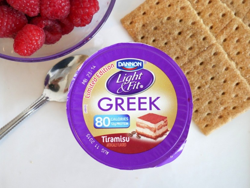 Upgrade your Snacking Routine with Dannon Light & Fit Tiramisu Flavored Greek Nonfat Yogurt!