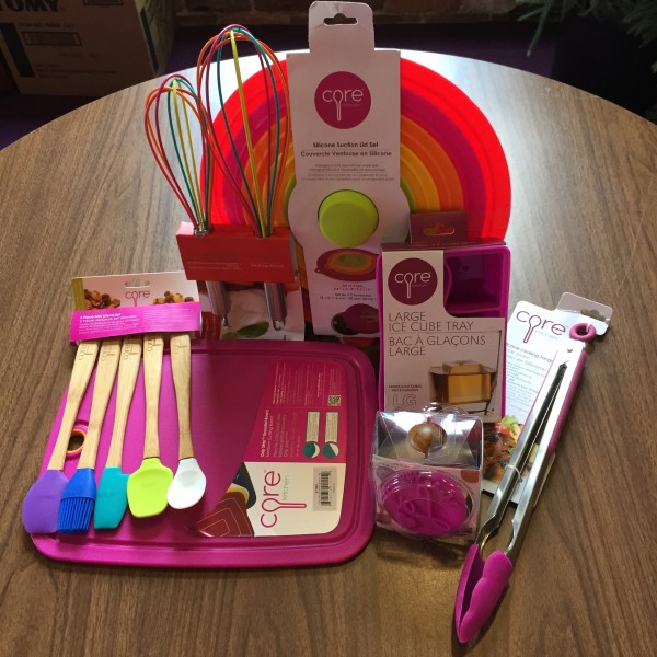 Amp up your Food Preparation with Colorful Tools from Core Kitchen ...