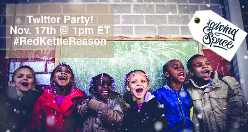 Salvation Army #RedKettleReason Twitter Party
