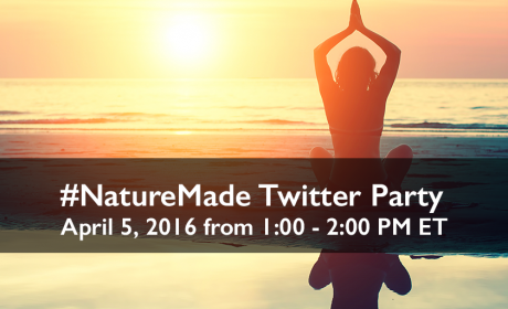 Join us for the Nature Made #NatureMade Twitter Party!