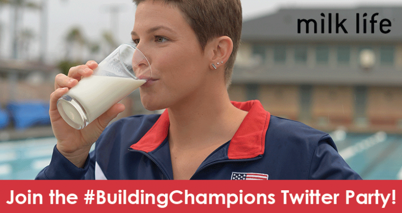 Join us for the Milk Life #BuildingChampions Twitter Party!