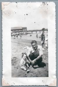 Mom and grandfather