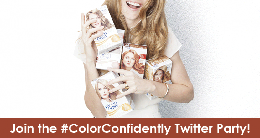 Join us for the Clairol Nice'n Easy #ColorConfidently Twitter Party!