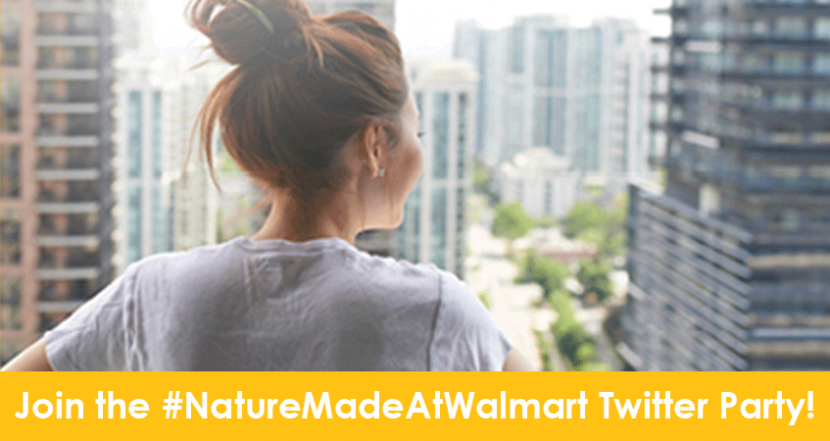 Join us for the #NatureMadeAtWalmart Twitter Party!