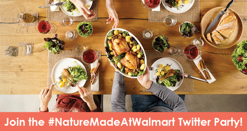Join Us For The #NatureMadeAtWalmart Twitter Party