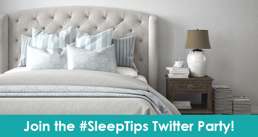 Join Us for the National Sleep Foundation #SleepTips Twitter Party!