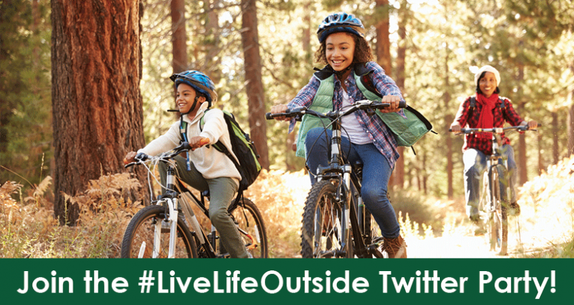 #LiveLifeOutside Twitter Party