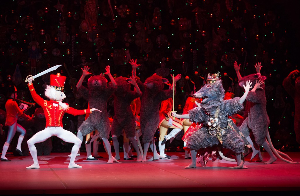 Boston Ballet in Mikko Nissinen's The Nutcracker; photo by Rosalie O'Connor, courtesy of Boston Ballet