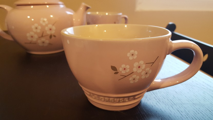 Celebrating Spring (and Mom!) with Le Creuset Sakura Collection