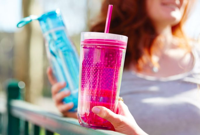 Bring the Zoku Glass Core Bottle With You Anywhere!