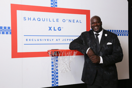 Shaquille O'Neal Introduces New XLG Collection at JCPenney