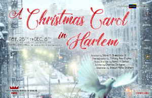 HERO Christmas Carol in Harlem Poster V15 LIGHT BG PRINT CMYK