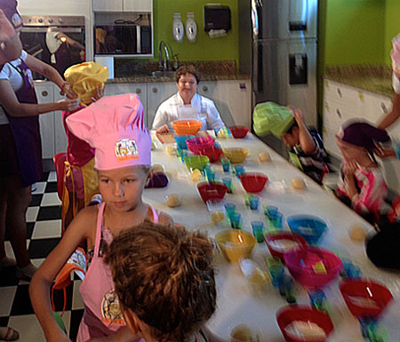 Generations Riveria Maya Little Eko Chefs - Kids cooking classes