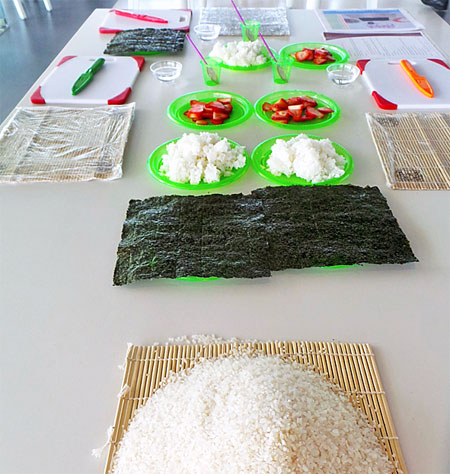 Generations Riveria Maya Little Eko Chefs - Sushi Making Class
